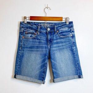 American Eagle Bermuda Shorts Size 4